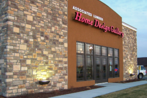 Stone veneer from TriLite installed to enhance business exterior in MN