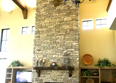 Mountain Ledgestone North Creme