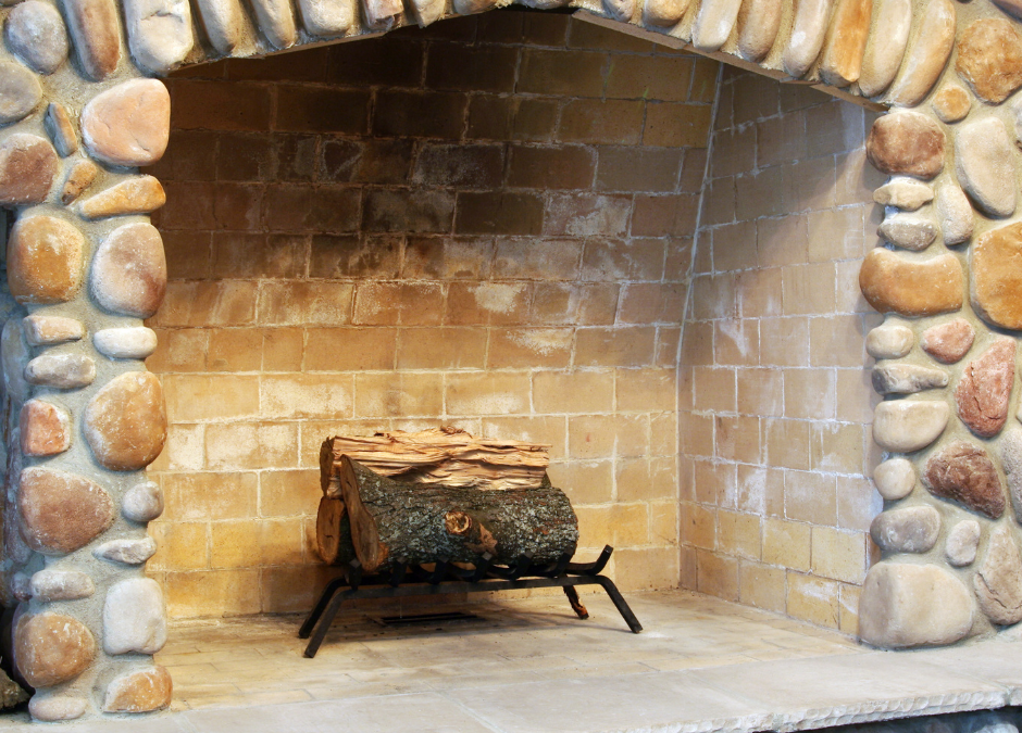 A Stone Veneer Feature Wall is Ideal for Your Living Room